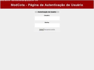 Sistema ModCota